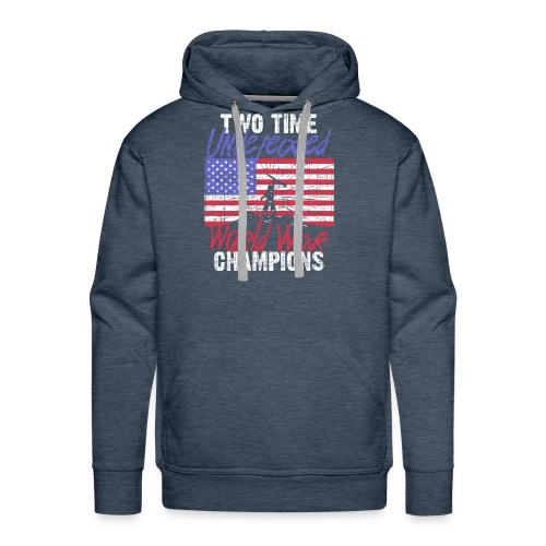 RETIRED ARMY: Undefeated War Champs - Men's Premium Hoodie