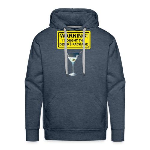 Drinks package shirt - Men's Premium Hoodie