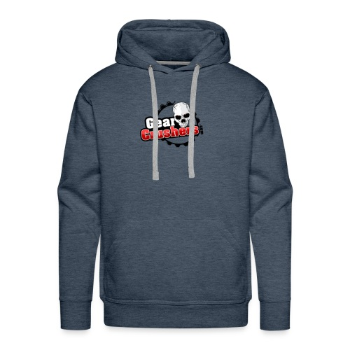 Gear Crushers Logo (png) - Men's Premium Hoodie