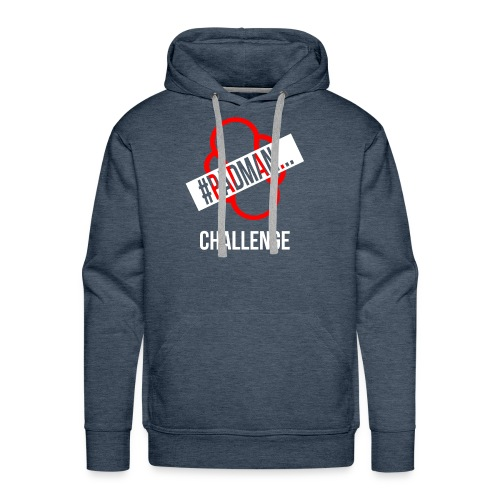 PadMan Challenge Shirts BY WearYourPassion - Men's Premium Hoodie