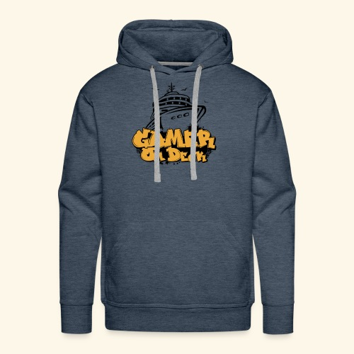 Gamer On Deck Graphic - Version 1-2 - Men's Premium Hoodie