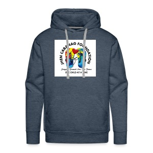 JHEN CABANAG FOUNDATION INTERNATIONAL Logo - Men's Premium Hoodie