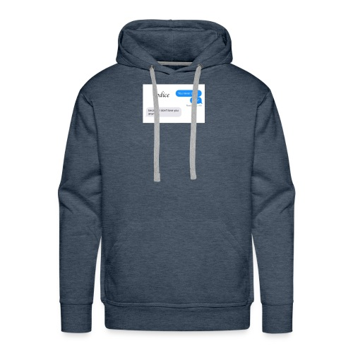 I don't love you anymore - Men's Premium Hoodie