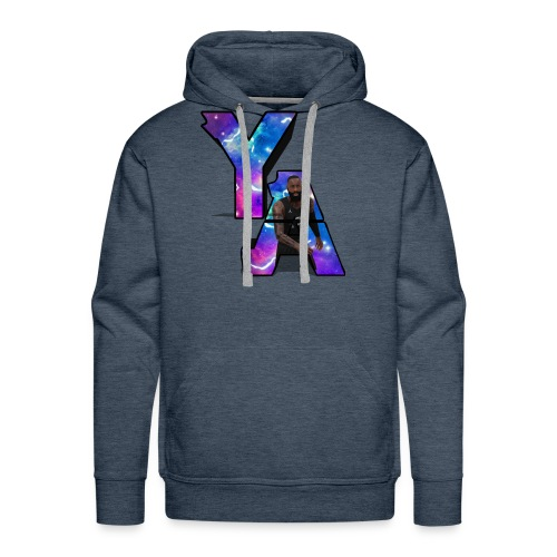 The Y/A Logo - Men's Premium Hoodie
