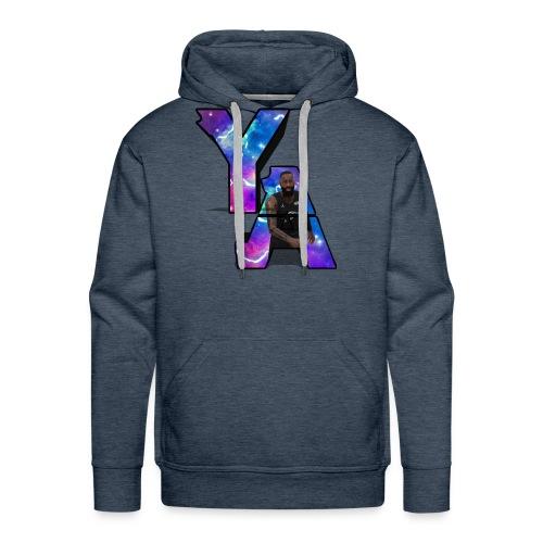 The Y/A Logo - Men's Premium Hoodie