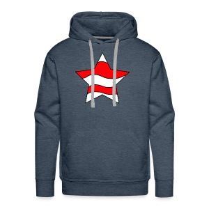 Patriot-1 Emblem - Men's Premium Hoodie