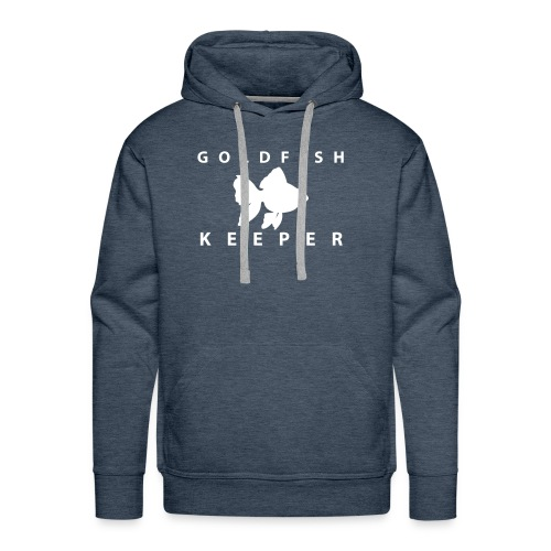 Goldfish Keeper (telescope) - Men's Premium Hoodie