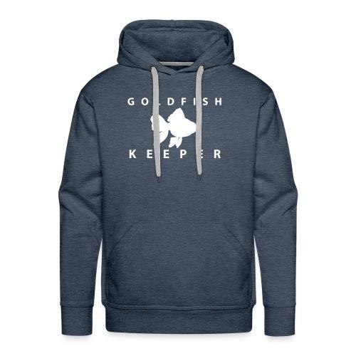 Goldfish Keeper (telescope) - Men's Premium Hoodie