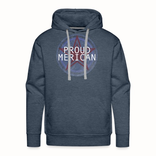 Proud Merican Design - Men's Premium Hoodie