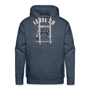 Level 20 Complete Video Gaming T Shirt - Men's Premium Hoodie