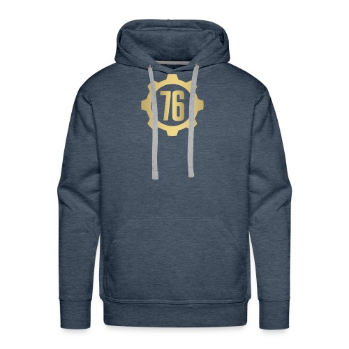 Vault 76 Dweller Shirt Design - Men's Premium Hoodie