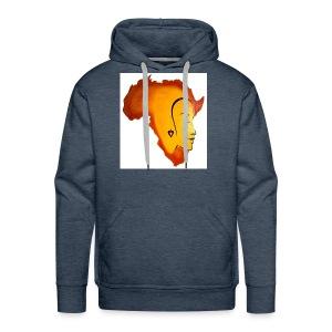 africa face - Men's Premium Hoodie