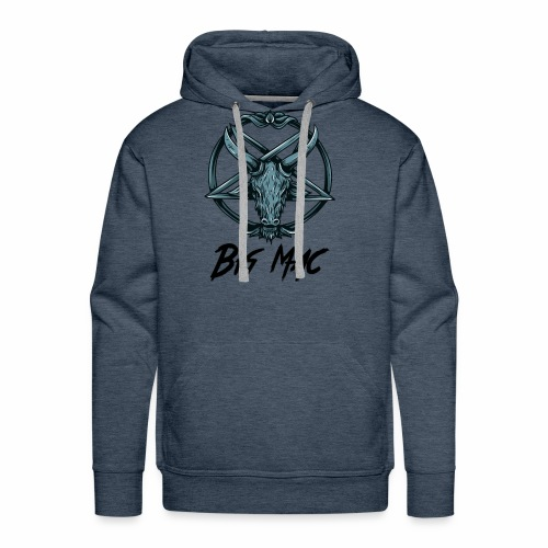 Big Mac Pentagram - Men's Premium Hoodie