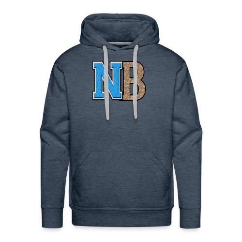 nb logo png tr - Men's Premium Hoodie