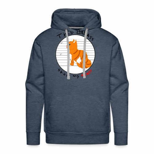 Badass kitty - Men's Premium Hoodie