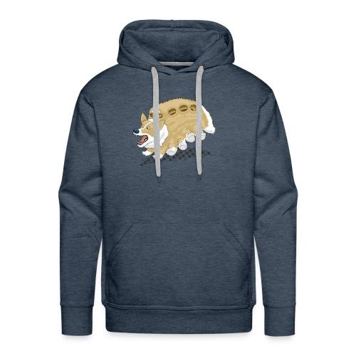 Corgbus: Jump inside for a Very Furry Ride. - Men's Premium Hoodie