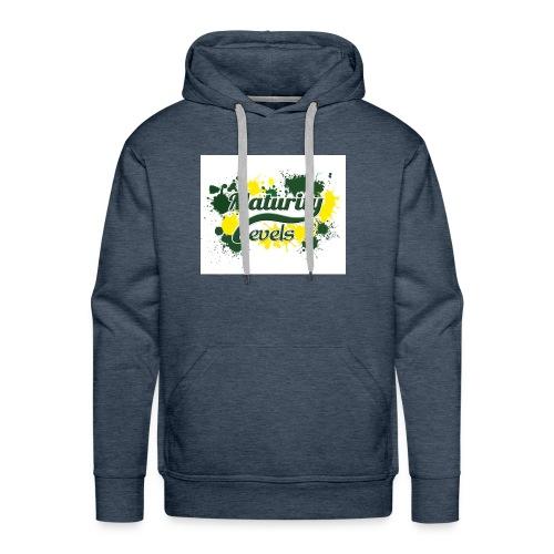 Maturity Levels Logo - Men's Premium Hoodie