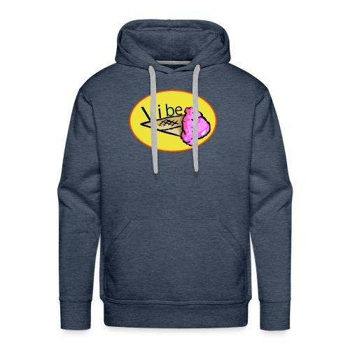vibe logo tee - Men's Premium Hoodie