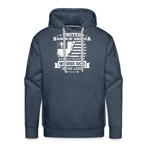 UnitedSaintsOfAmerica DesignHD 1 - Men's Premium Hoodie