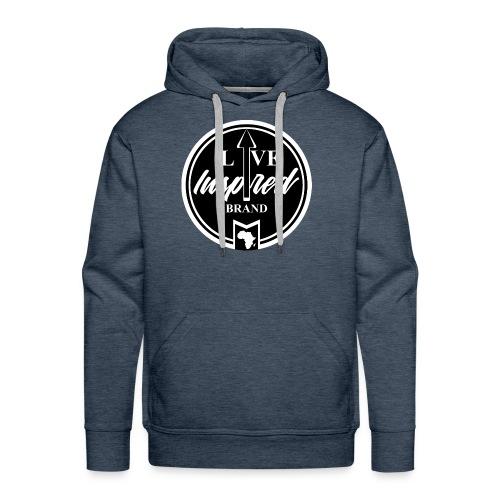 Live Inspired Brand Logo - Men's Premium Hoodie