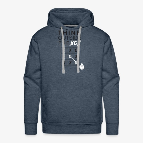 THINK OUTSIDE TH BOX - Men's Premium Hoodie