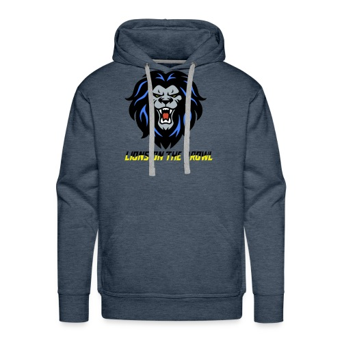 Lions On The Prowl` - Men's Premium Hoodie