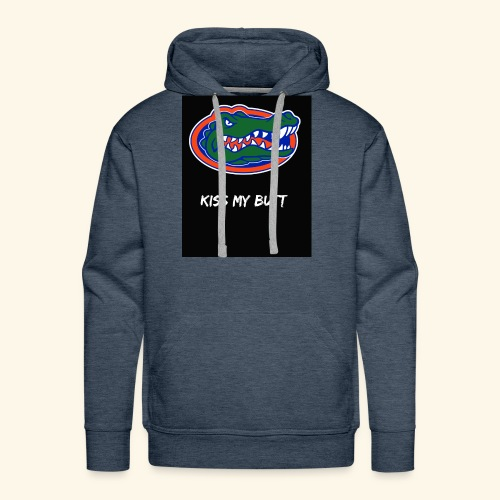 Gators kiss my butt - Men's Premium Hoodie