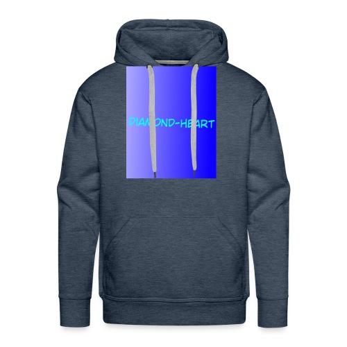 DiamondHeartmerch2 - Men's Premium Hoodie