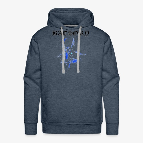 Bathory Classic Goat Logo T-Shirt - Official Merch - Men's Premium Hoodie