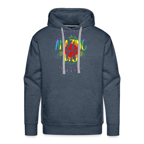 Amazing Day - Men's Premium Hoodie