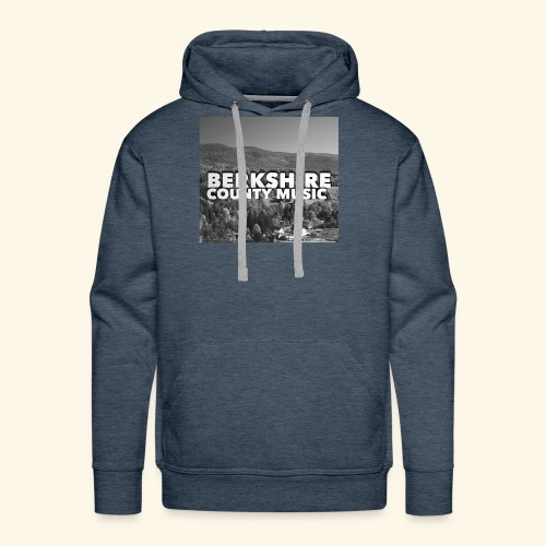 Berkshire County Music Black/White - Men's Premium Hoodie