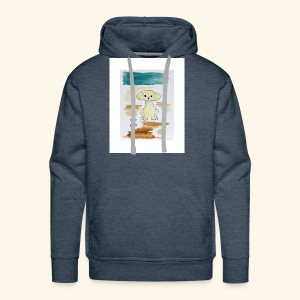 Traver and His Dog - Men's Premium Hoodie