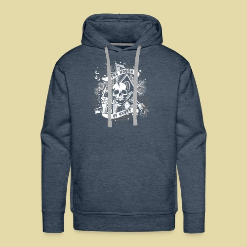 hoh_tshirt_skullhouse - Men's Premium Hoodie