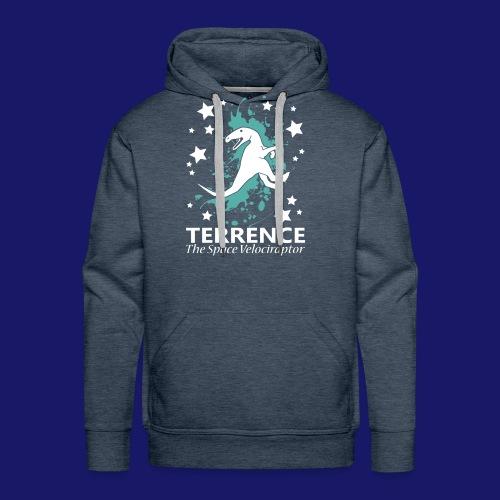 Terrence the Space Velociraptor - Men's Premium Hoodie