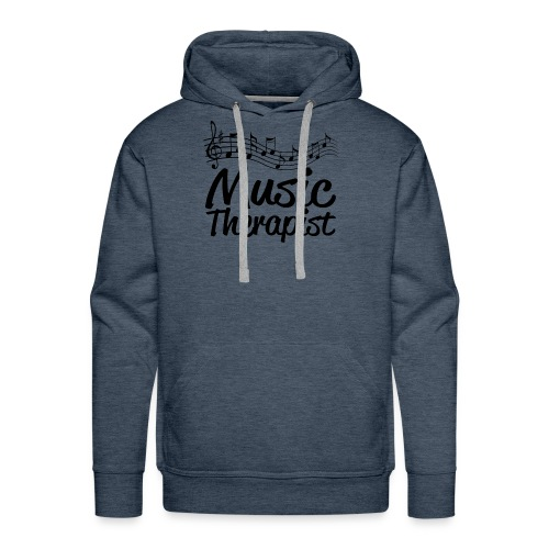 04 music therapist copy - Men's Premium Hoodie