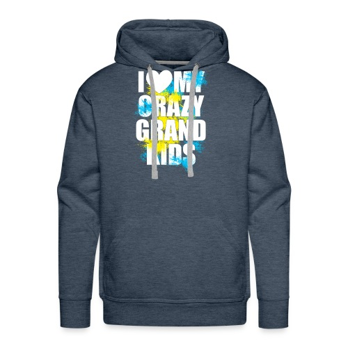 I Love My Crazy Grandkids - Men's Premium Hoodie