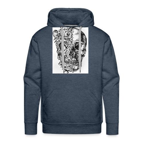 skull of madness - Men's Premium Hoodie