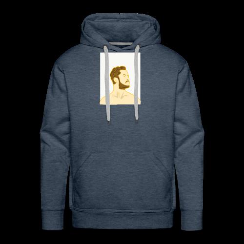 Fan art of Dan Reynolds - Men's Premium Hoodie