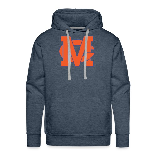 interlocking MC vector - Men's Premium Hoodie