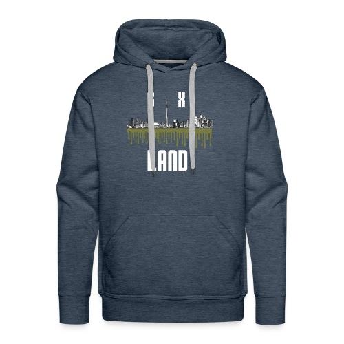 6ixland Logo - Men's Premium Hoodie