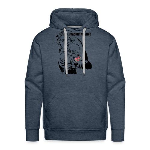 Female Engineer STEM Frackin' Amazing Rosie shirt - Men's Premium Hoodie
