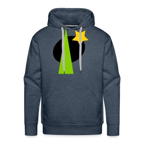 geometric design - Men's Premium Hoodie