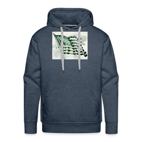 American Flag #METOO - Men's Premium Hoodie