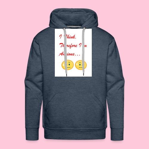 Anxious shirt - Men's Premium Hoodie