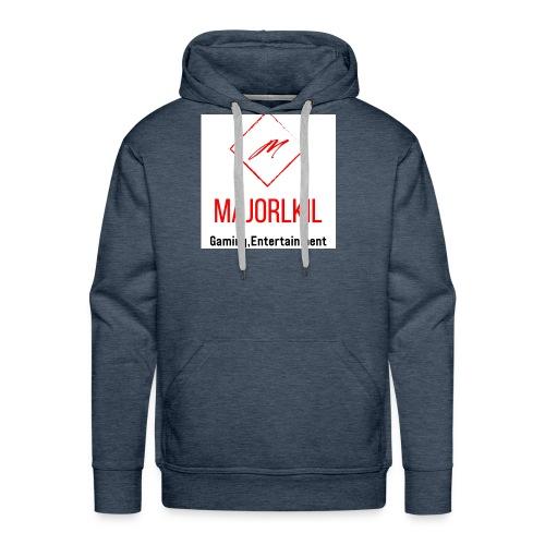 MajorLkil Channel Logo - Men's Premium Hoodie