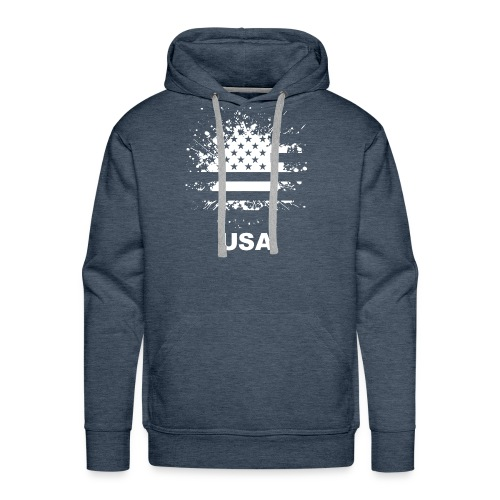 American flag usa - Men's Premium Hoodie