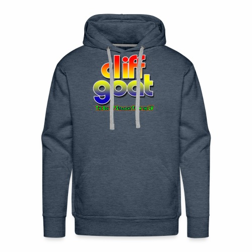 cliffgoat June 2018 Logo - Men's Premium Hoodie