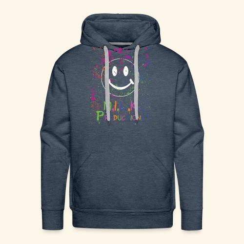 M.I.L.K. Color Splatter T-Shirt - Men's Premium Hoodie