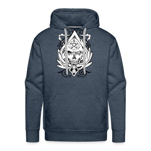 Skull Devil Inside - Men's Premium Hoodie