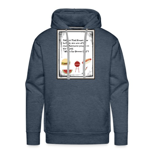 Fathers Who cook - Men's Premium Hoodie